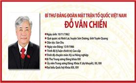 Bí thư Đảng đoàn Mặt trận Tổ quốc Việt Nam Đỗ Văn Chiến