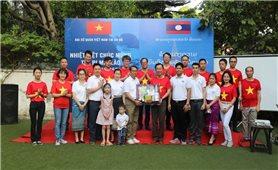 Thắm tình Hữu nghị Việt-Lào tại New Delhi