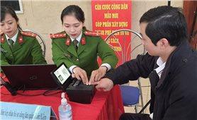 Công an thành phố Hà Nội thay đổi địa điểm cấp căn cước công dân