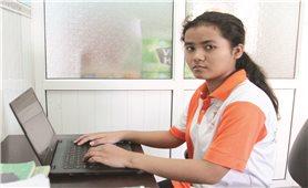 Nữ sinh dân tộc Chăm 3 lần đoạt giải Nhất cấp tỉnh