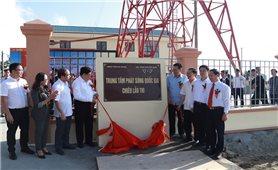 Khánh thành Trung tâm phát sóng quốc gia nằm ở độ cao nhất Việt Nam