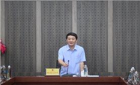 Bộ trưởng, Chủ nhiệm UBDT Hầu A Lềnh làm việc với Tạp chí Dân tộc