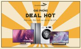 Mừng đại lễ, Sunshine Mall tung deal khủng, cơ hội nhận ưu đãi lên tới hơn 10 triệu đồng