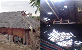 Sa Pa: 38 ngôi nhà bị thiệt hại do dông lốc