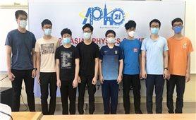 Việt Nam có học sinh đạt điểm cao nhất kỳ thi Olympic Vật lý Châu Á - Thái Bình Dương