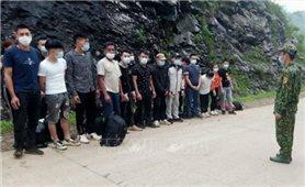 Bộ đội Biên phòng Cao Bằng phát hiện, ngăn chặn 137 trường hợp nhập cảnh trái phép
