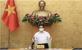 Thủ tướng Phạm Minh Chính chủ trì Hội nghị trực tuyến toàn quốc về phòng, chống Covid-19