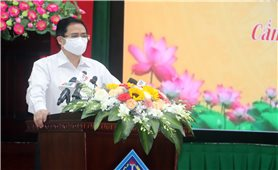 Thủ tướng Chính phủ Phạm Minh Chính tiếp xúc cử tri tại TP.Cần Thơ