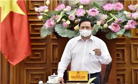 Thủ tướng Chính phủ Phạm Minh Chính làm việc với Bộ Xây dựng