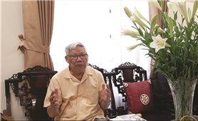 """Nguyên Bộ trưởng Bộ NN&PTNT Lê Huy Ngọ: """"Thích ứng hài hòa với thiên nhiên để phát triển bền vững"""""""