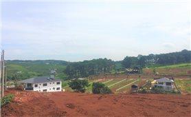 Lâm Đồng: Nhiều dự án bất động sản trái phép đã