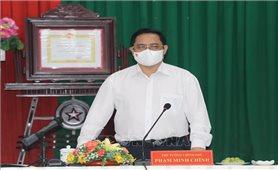 Thủ tướng Phạm Minh Chính: Cần Thơ không được lơ là, mất cảnh giác với dịch COVID-19
