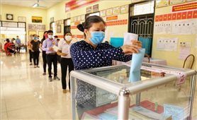 Truyền thông quốc tế đưa tin cử tri Việt Nam đi bầu cử trong điều kiện bảo đảm an toàn phòng dịch