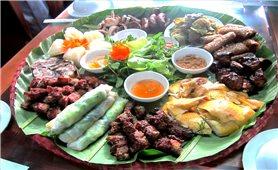 Cỗ lá - Nét văn hóa ẩm thực độc đáo của đồng bào Mường vùng Tây Bắc
