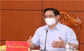 Thủ tướng Chính phủ Phạm Minh Chính triệu tập cuộc họp khẩn với 6 tỉnh biên giới Tây Nam về phòng chống dịch Covid-19