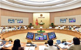 Thủ tướng Phạm Minh Chính chủ trì Phiên họp Chính phủ thường kỳ tháng 5/2021