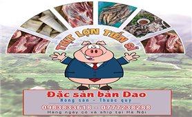 Cửa hàng đặc sản bản Dao của Tiến sĩ Bàn Tuấn Năng