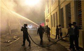 Cháy phòng trà tại Nghệ An khiến 6 người tử vong