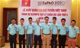Việt Nam có 5 thí sinh tham dự Cuộc thi Olympic Vật lý châu Âu 2021