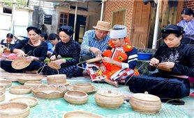 Phát triển nghề mây, tre đan ở Lâm Bình