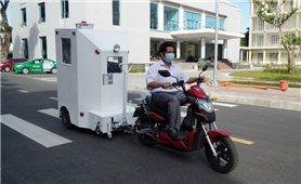 Sáng chế cabin chở bệnh nhân Covid-19 trong khu cách ly