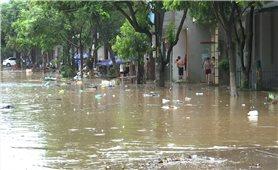 Mưa lớn gây ngập nhiều điểm trên địa bàn TP. Lào Cai