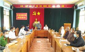 Lãnh đạo huyện Đăk Hà gặp gỡ, làm việc với các chức sắc tôn giáo