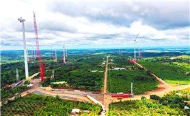 Dự án điện gió EaNam: Vừa thi công, vừa bảo đảm phòng chống dịch bệnh