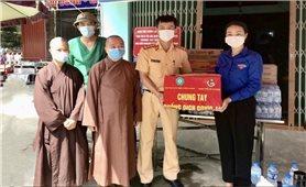 Tăng Ni, Phật tử tích cực tham gia phòng, chống dịch Covid -19