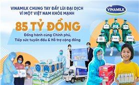 VINAMILK trao tặng món quà sức khoẻ đến 10. 000 cán bộ y tế tuyến đầu tại nhiều bệnh viện trên cả nước