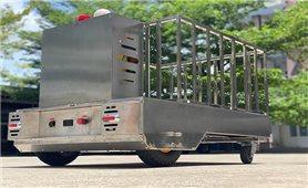 Đồng Nai: Robot hỗ vận chuyển nhu yếu phẩm trong khu cách ly