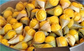Bánh bò thốt nốt của người Khmer Nam Bộ
