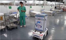 Đưa robot vào điều trị bệnh nhân Covid-19 nặng ở TP. Hồ Chí Minh