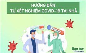 Hướng dẫn tự lấy mẫu xét nghiệm test nhanh COVID-19 tại nhà