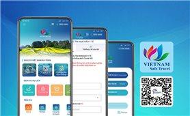 """Tích hợp tính năng """"Tờ khai y tế"""" trên ứng dụng """"Du lịch Việt Nam an toàn"""""""