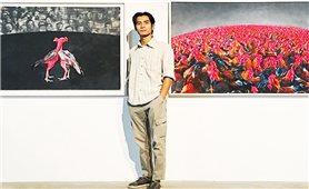 Họa sỹ trẻ dân tộc Giáy: Vẽ cuộc đời mình bằng đam mê