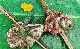 Pa pỉnh tộp: Đặc sản người Thái chỉ dành mời khách quý