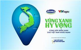 """Vinamilk góp 1 triệu ly sữa với hoạt động """"Cùng góp điểm xanh, cho Việt Nam khỏe mạnh"""""""