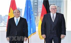 Chủ tịch nước tiếp Tổng thống Đức trước khi lên đường về Việt Nam