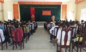Thanh Hóa: Bồi dưỡng nghiệp vụ công tác dân vận cho cán bộ cơ sở các xã biên giới