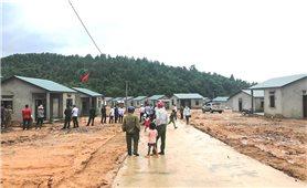 45 hộ dân đồng bào Vân Kiều được chuyển đến khu tái định cư thôn Ra Ly - Rào
