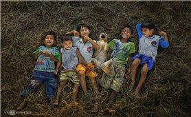 Tuổi thơ trẻ em dân tộc ở Kon Tum
