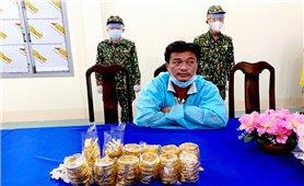 An Giang: Bắt vụ vận chuyển lậu hơn 2 kg kim loại nghi vàng qua biên giới