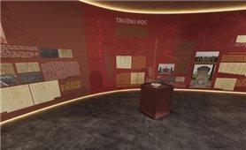 Triển lãm 3D tài liệu lưu trữ Giáo dục triều Nguyễn - vang vọng còn lại: Tìm lại vàng son một thuở
