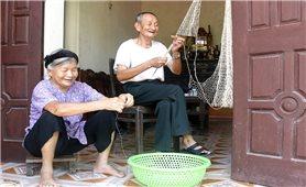 Nghề đan lưới ở Vĩnh Lại