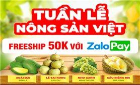 Nông sản Việt đang nóng trên các sàn thương mại điện tử