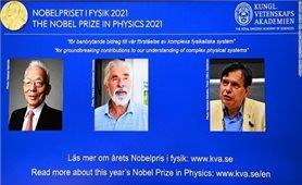 Nobel Vật lý 2021 trao cho 3 nhà khoa học nghiên cứu về biến đổi khí hậu
