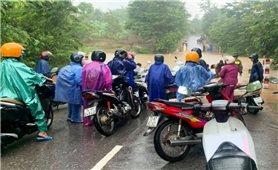 Quảng Trị: Mưa to, ngầm tràn bị ngập chia cắt nhiều xã