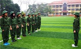 Giảng dạy giáo dục quốc phòng an ninh phải linh hoạt theo yêu cầu phòng chống dịch
