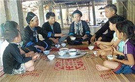 Lễ mừng cơm mới của đồng bào Nùng ở Hoàng Su Phì